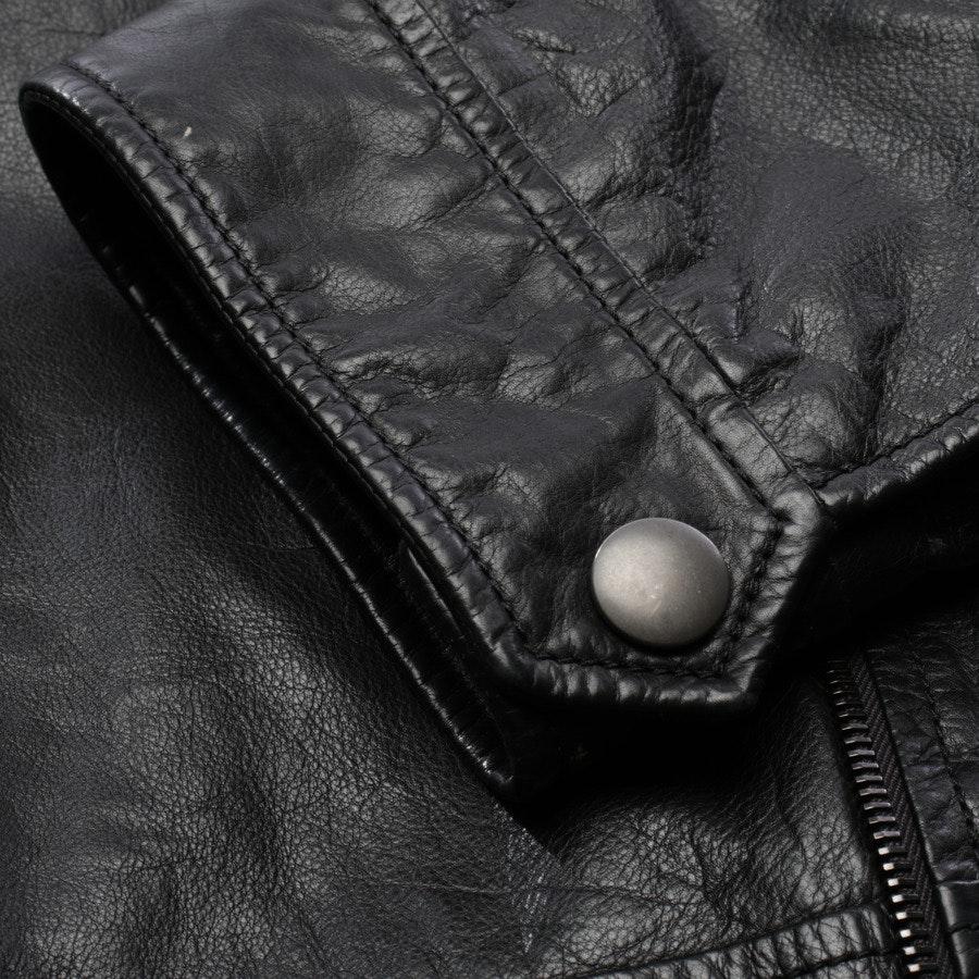 leather jacket from Bottega Veneta in black size 50