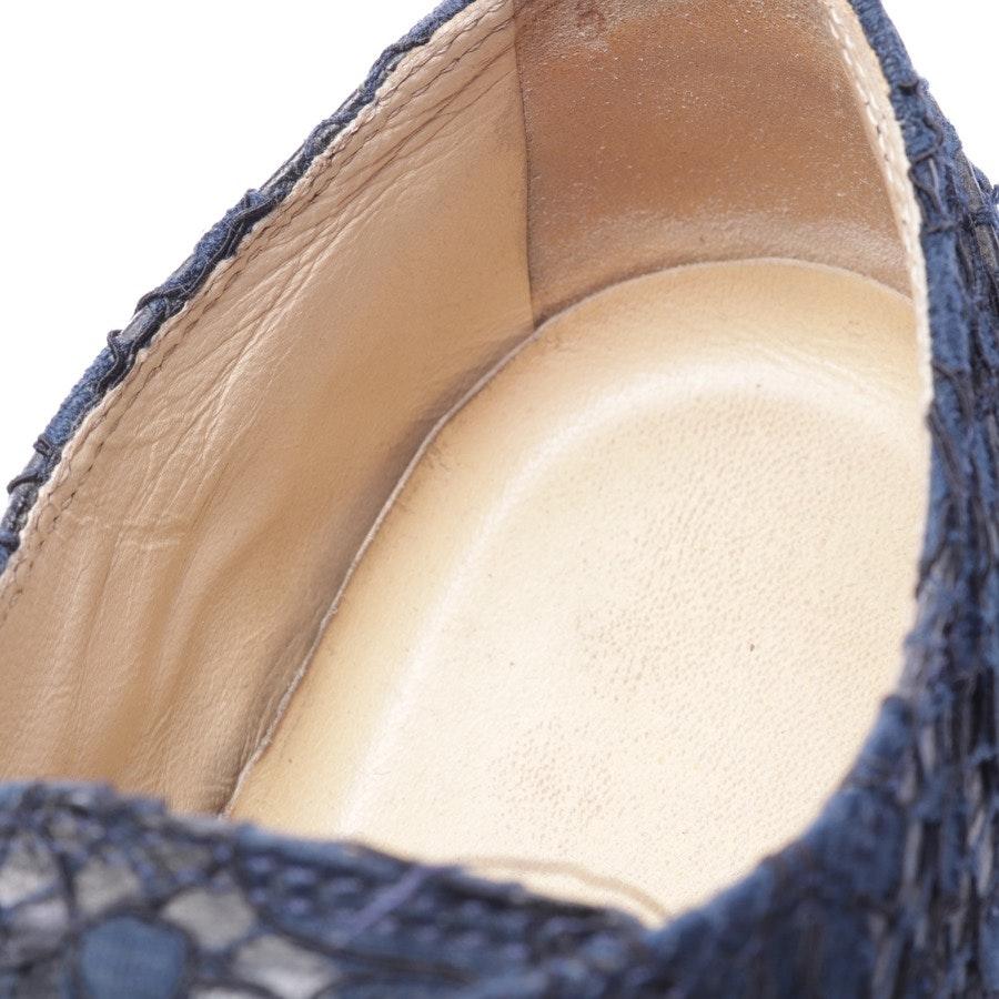 Sneaker von Chanel in Dunkelblau und Schwarz Gr. EUR 38