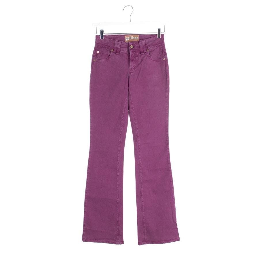 Jeans von John Galliano in Violett Gr. W26 - Neu