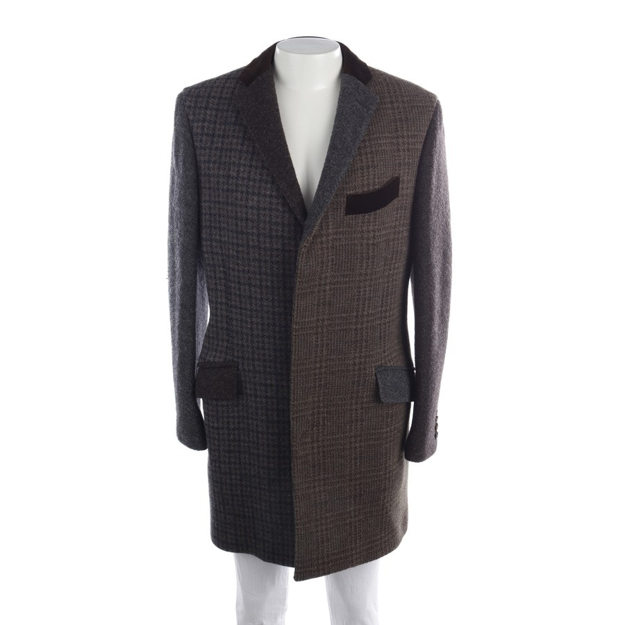 between-seasons jackets from Etro in olive green and grey size 54