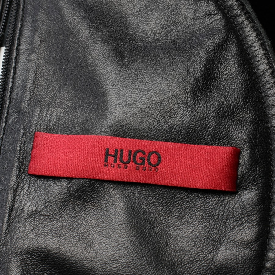 leather jacket from Hugo Boss Red Label in black size M