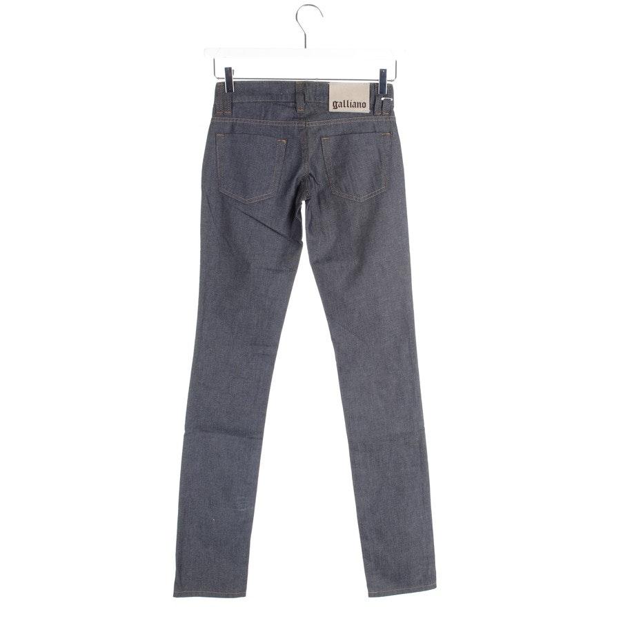 Jeans von John Galliano in Dunkelblau Gr. W25 - Neu