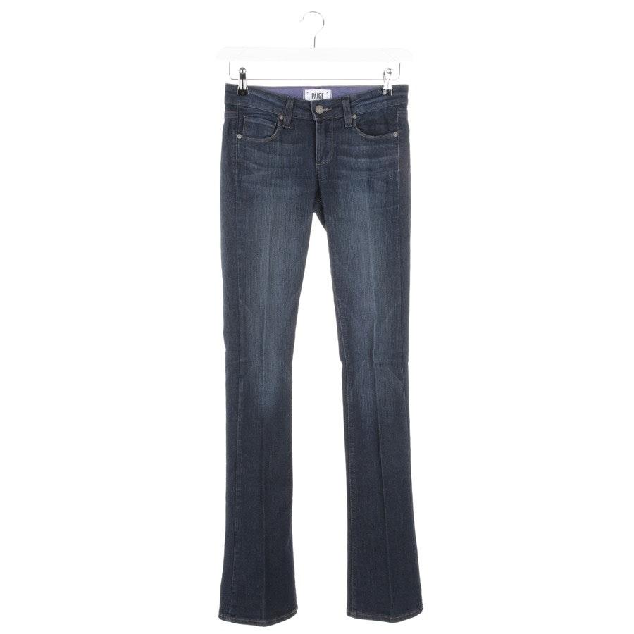 Jeans von Paige in Dunkelblau Gr. W25 - lagune