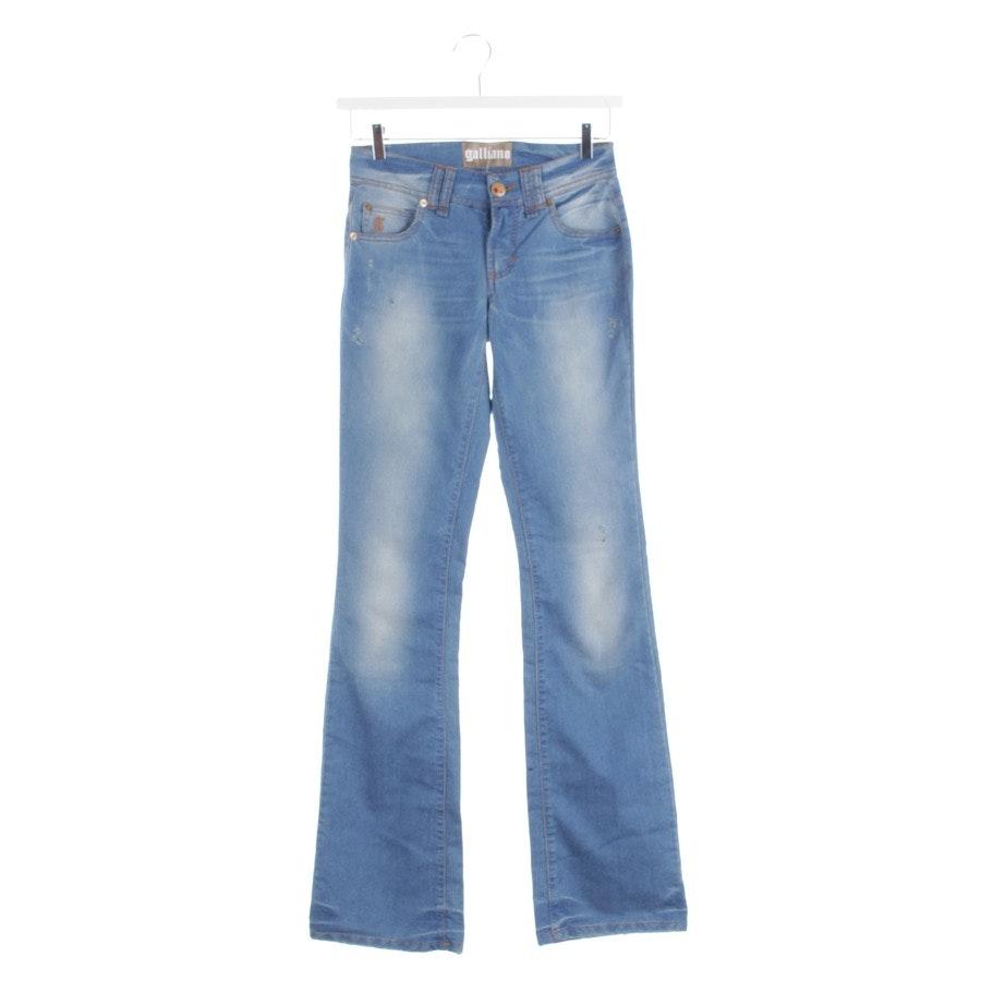Jeans von John Galliano in Blau Gr. W27 - Neu