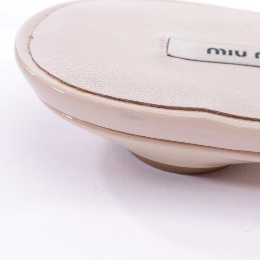 loafers from Miu Miu in nude size EUR 36,5 - new