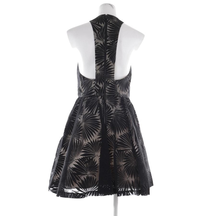 Kleid von Alice + Olivia in Creme und Schwarz Gr. 40