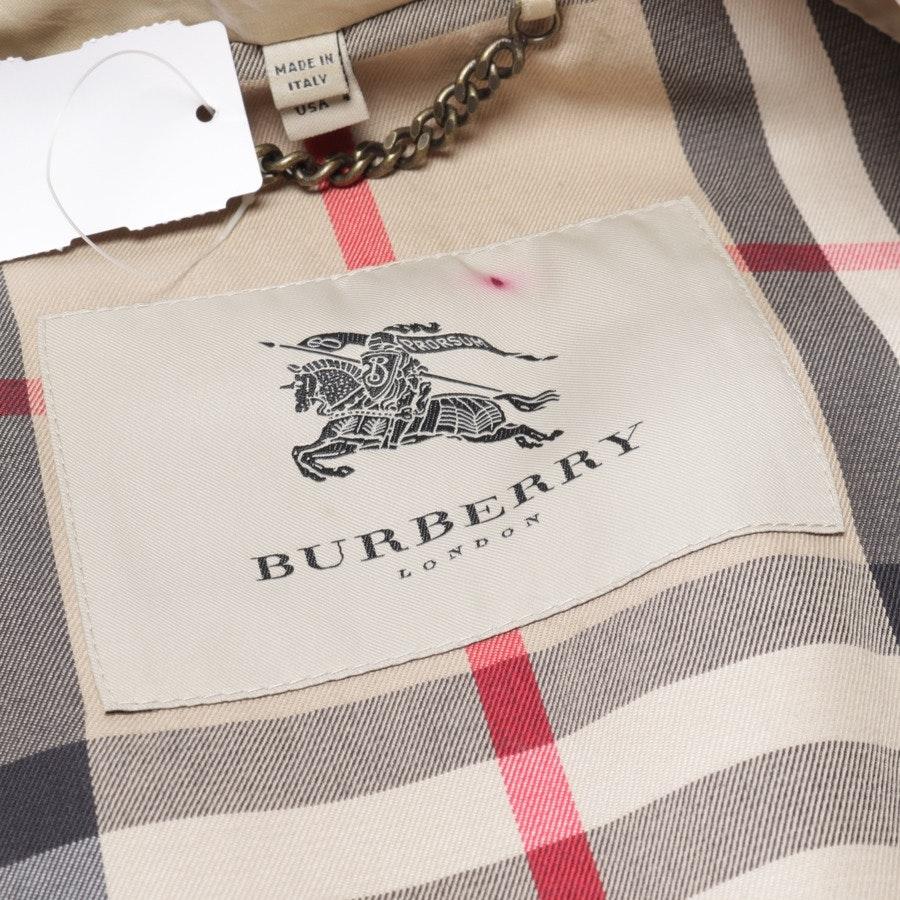 Übergangsjacke von Burberry London in Beige Gr. 34