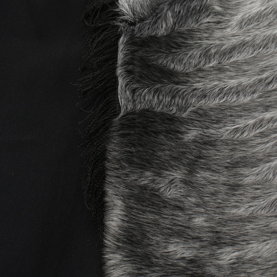 Fellmantel von Saint Laurent in Grau Gr. 38 FR 40