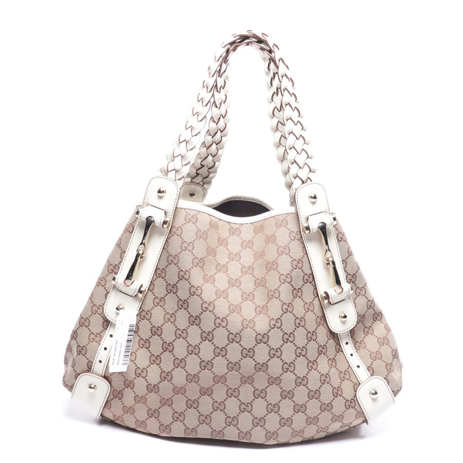 shopper from Gucci in beige and brown - pelham