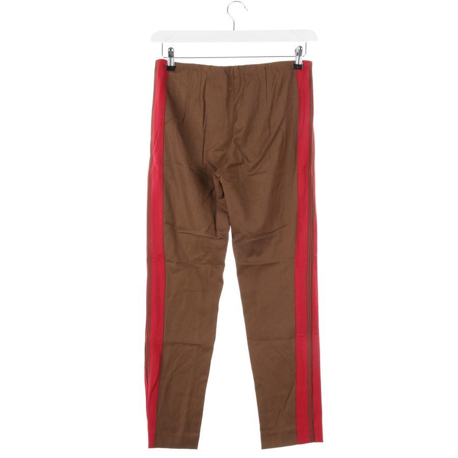 Hose von P.A.R.O.S.H. in Braun und Rot Gr. S