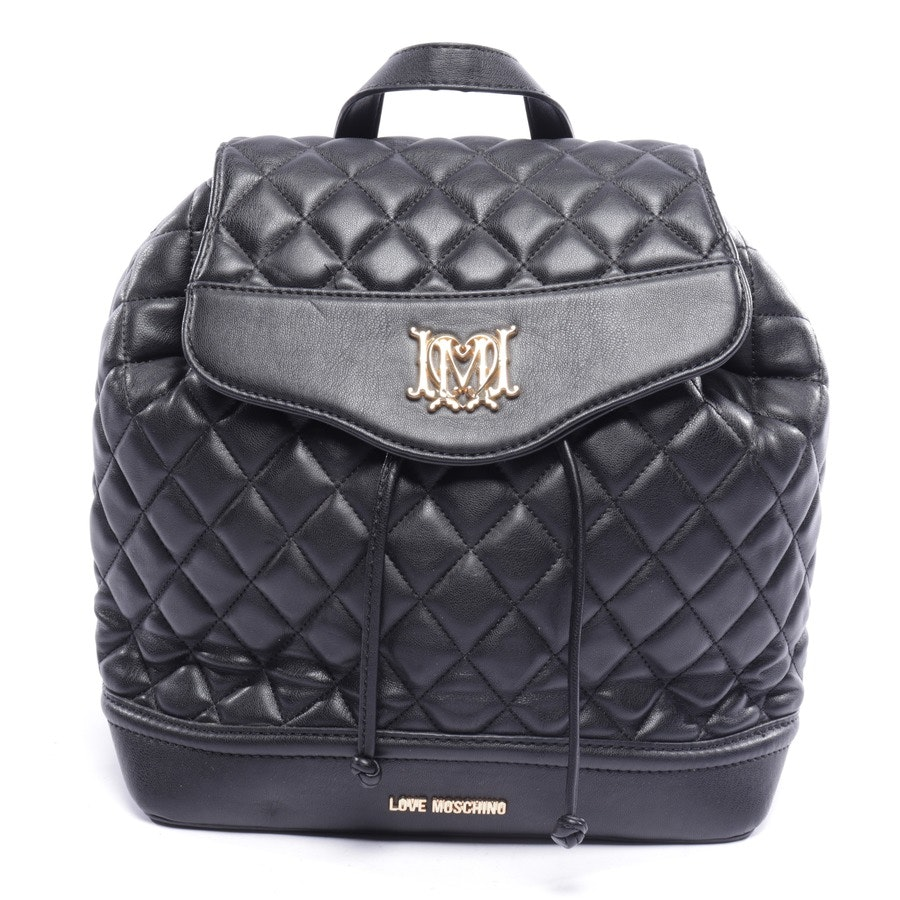 backpack from Love Moschino in black