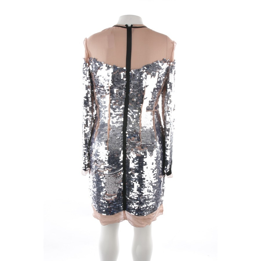dress from Lanvin in silver and beige size 42 FR 44