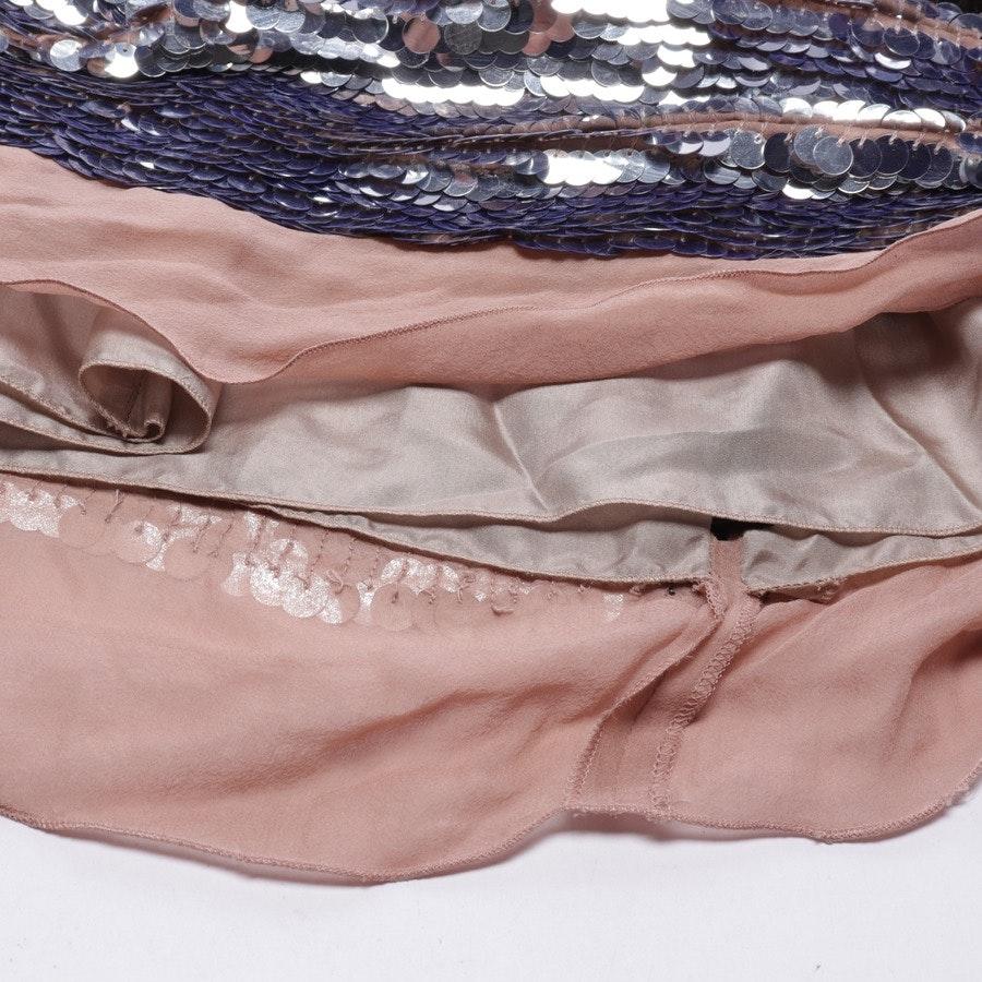Kleid von Lanvin in Silber und Beige Gr. 42 FR 44
