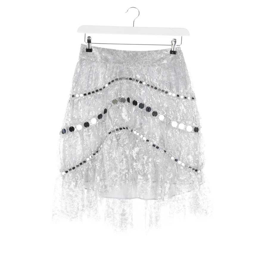 skirt from Zimmermann in silver size 38 / 2