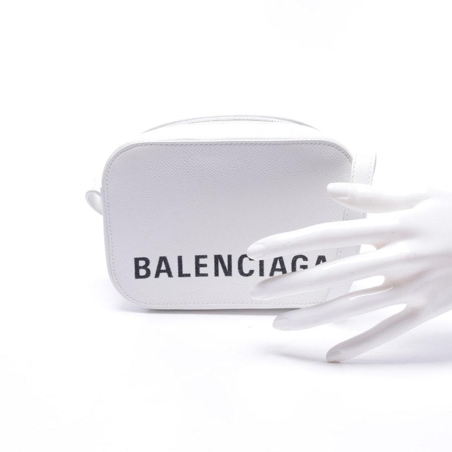 Abendtasche von Balenciaga in Weiß und Schwarz