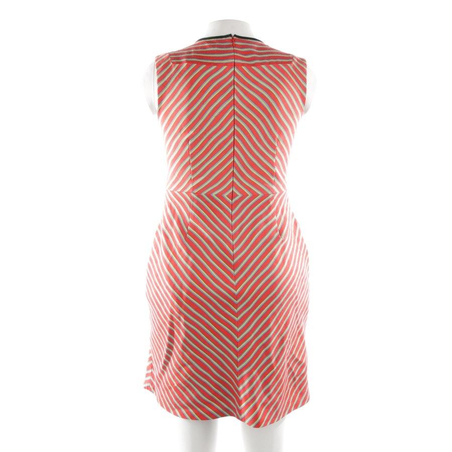 Kleid von Diane von Furstenberg in Rot und Gelb Gr. 40 US 10