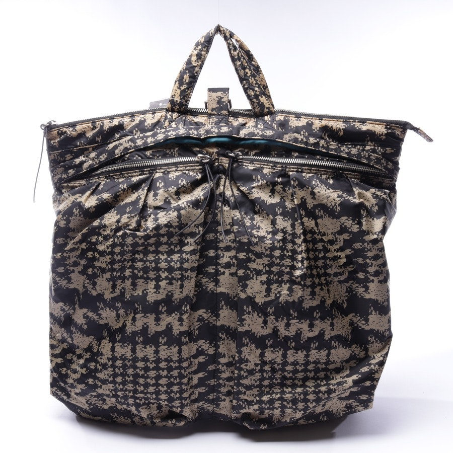 shopper from By Malene Birger in taupe and black