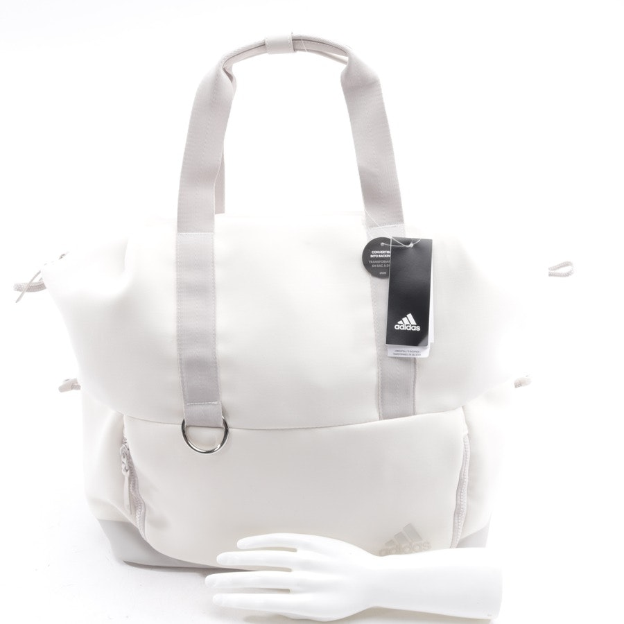 overnighter from Adidas in offwhite and grey - fav tote bag - new
