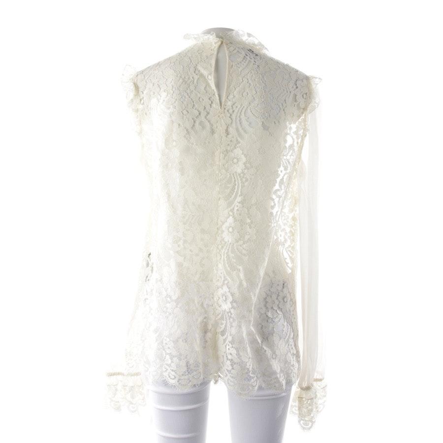 Bluse von Dolce & Gabbana in Cremeweiß Gr. 38