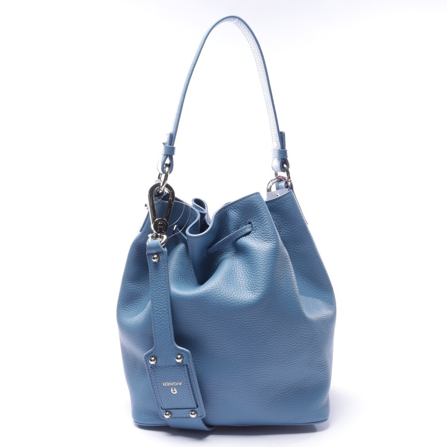 shopper from Aigner in pigeon blue - new