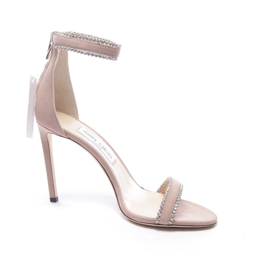 heeled sandals from Jimmy Choo in taupe size EUR 39,5 - new
