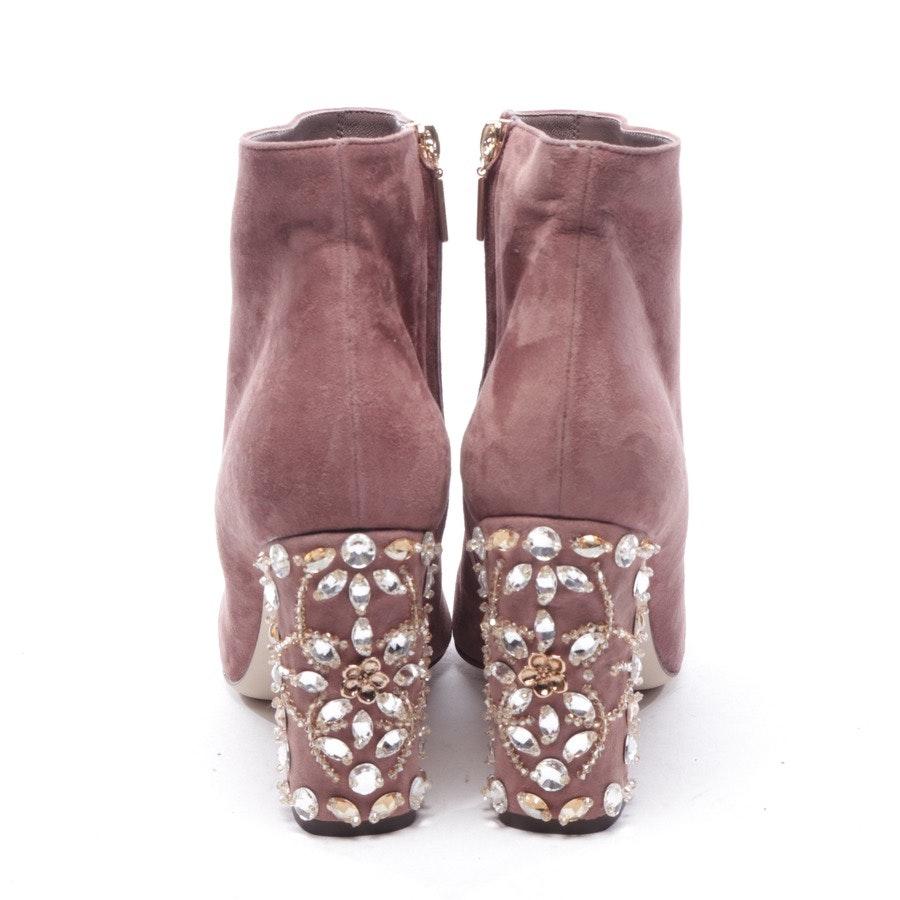 Stiefeletten von Dolce & Gabbana in Rosenholz Gr. EUR 41 - Neu