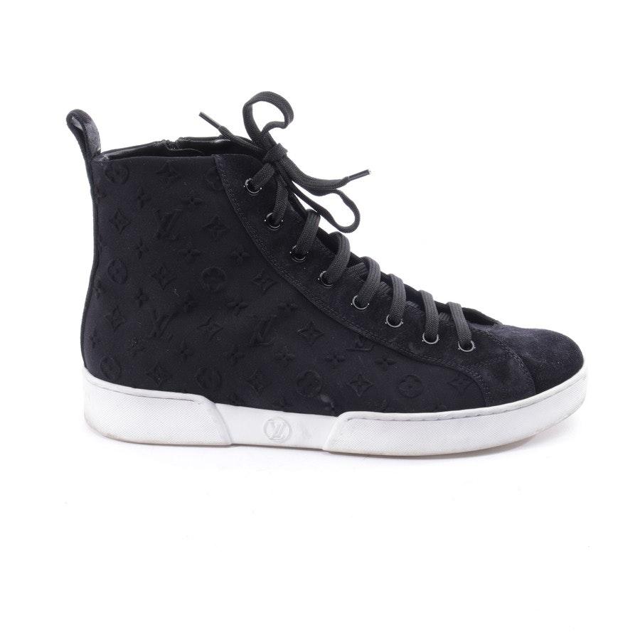 High-Top Sneaker von Louis Vuitton in Schwarz und Weiß Gr. EUR 38