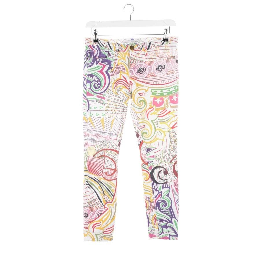 Jeans von Mary Katrantzou in Weiß Gr. W27