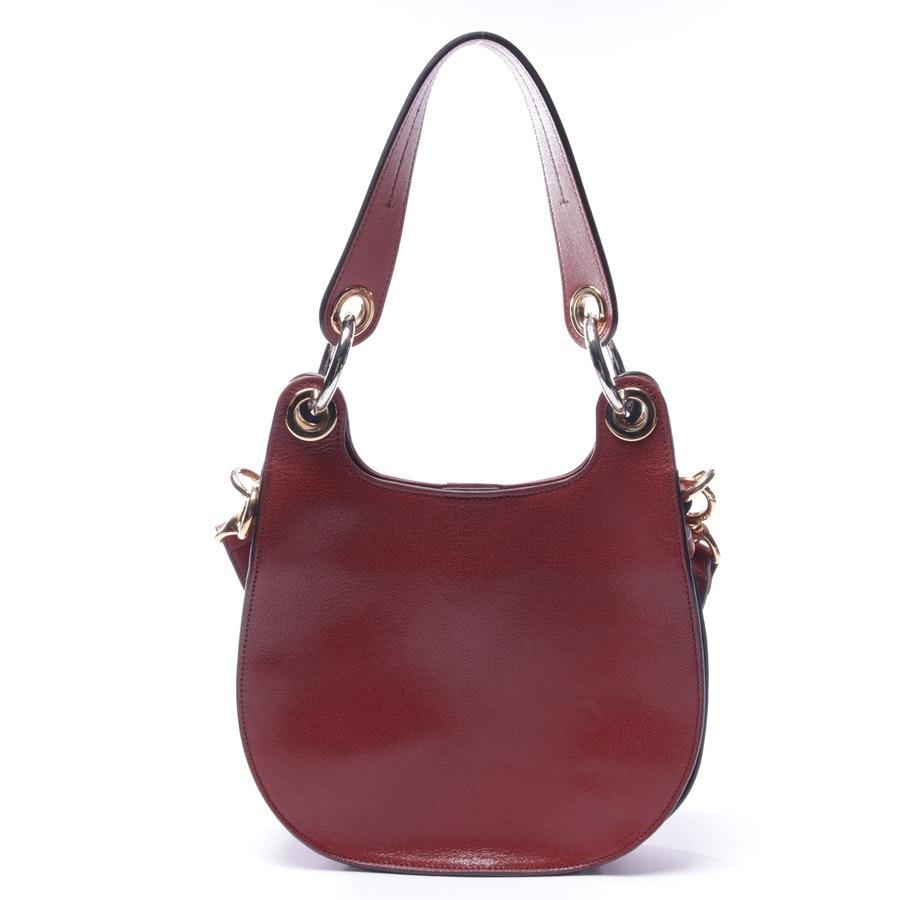 Handtasche von Chloé in Rotbraun - Tess Hobo Bag