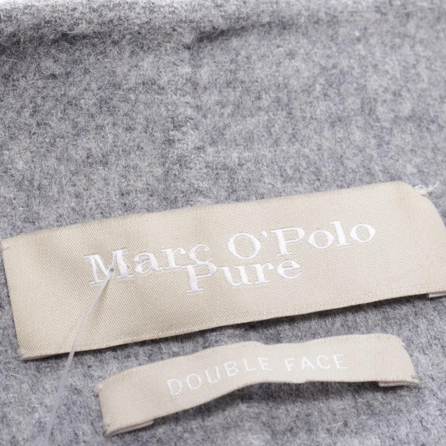 Wolljacke von Marc O'Polo Pure in Grau meliert Gr. 40