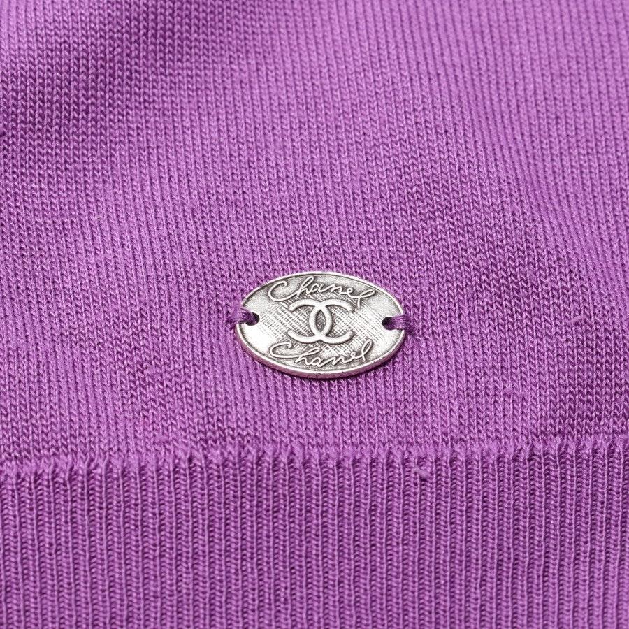 Seidenpullover von Chanel in Lila Gr. 36 FR 38