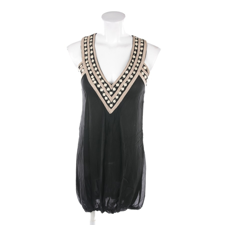 dress from Patrizia Pepe in black and gold size 34 IT 40