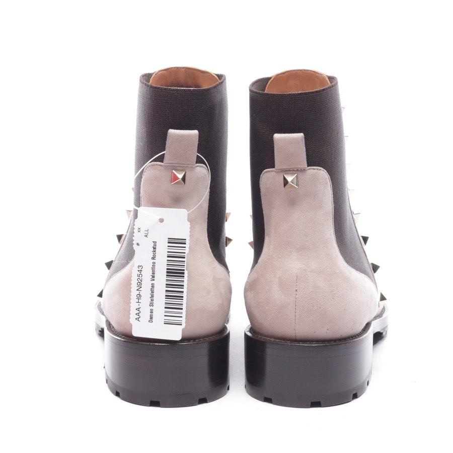 Chelsea Boots von Valentino in Beigerosa Gr. EUR 38 - Rockstud - Neu
