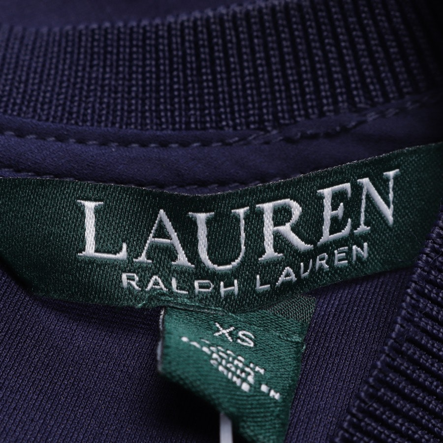 Cocktailkleid von Lauren Ralph Lauren in Nachtblau und Rot Gr. XS - Neu