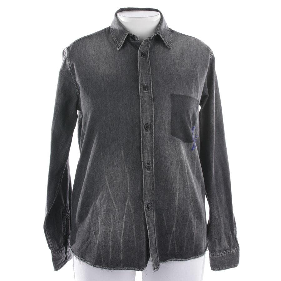 Bluse von Saint Laurent in Schwarz Gr. M