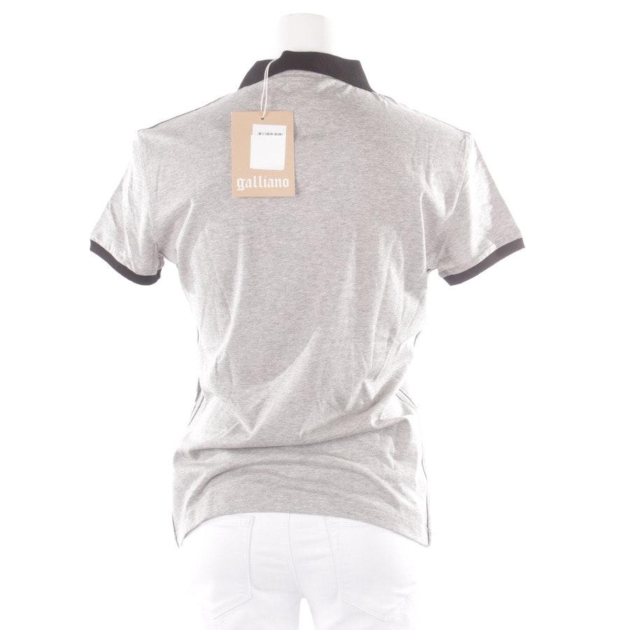 Poloshirt von John Galliano in Grau Gr. M - Neu - mit Etikett