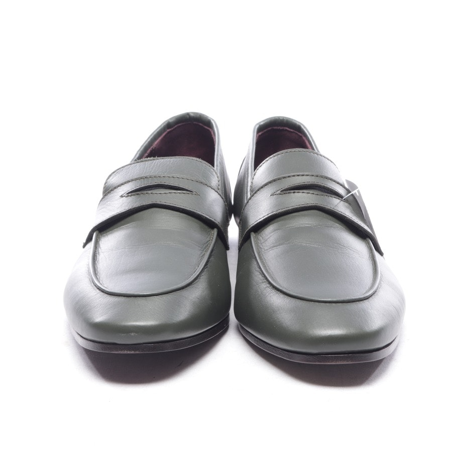 loafers from Bougeotte in forest green size EUR 38,5 - new