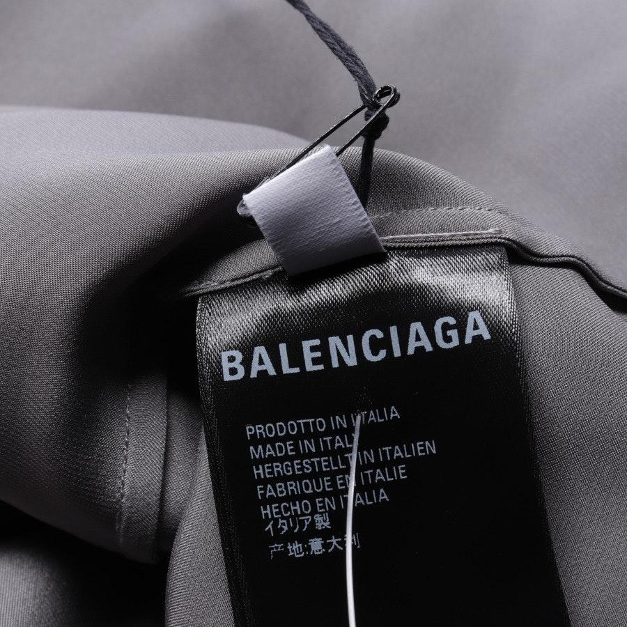 Seidenbluse von Balenciaga in Dunkelgrau Gr. 32 FR 34 - Neu