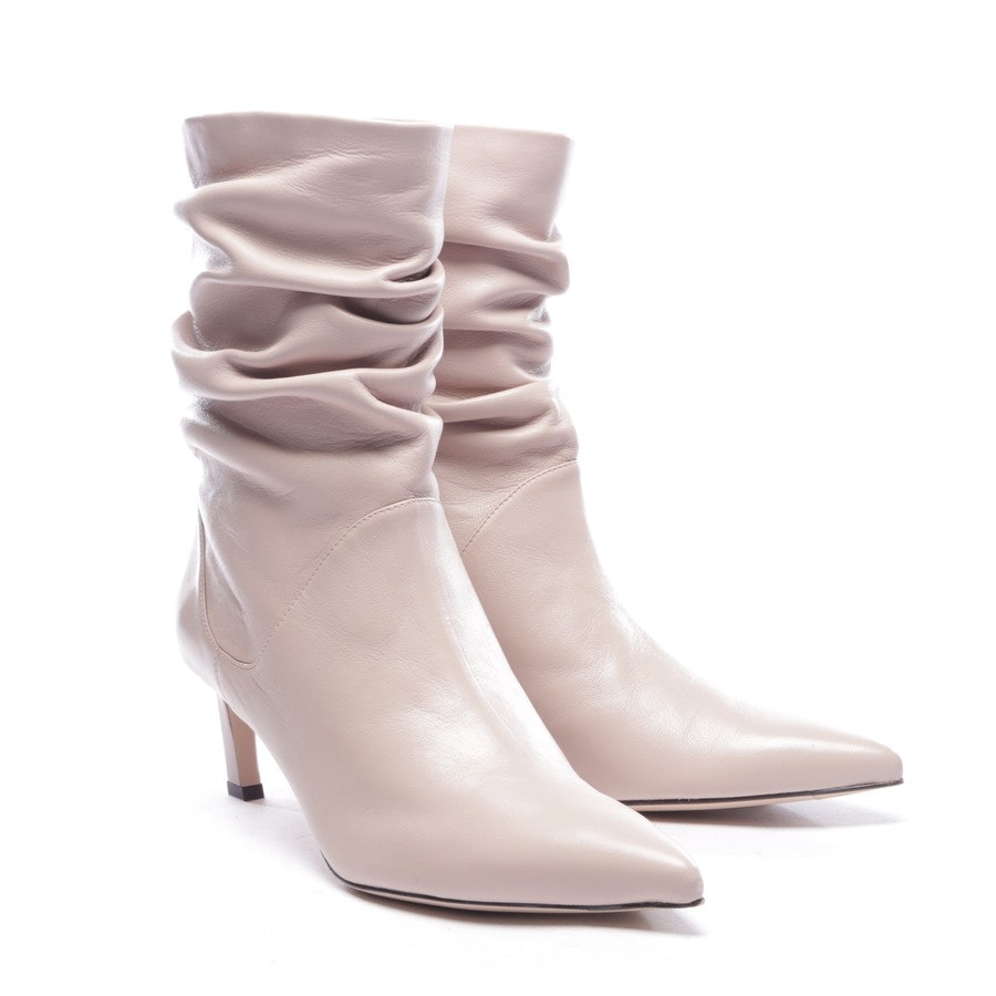 ankle boots from Stuart Weitzman in beigepink size EUR 42