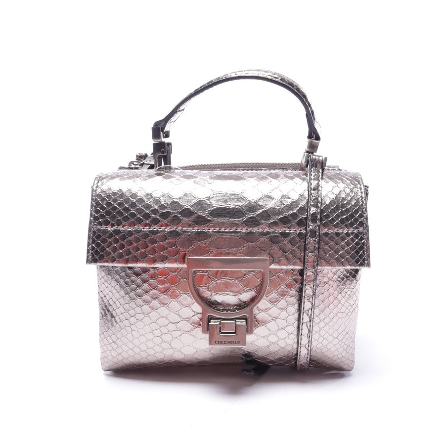 shoulder bag from Coccinelle in silver