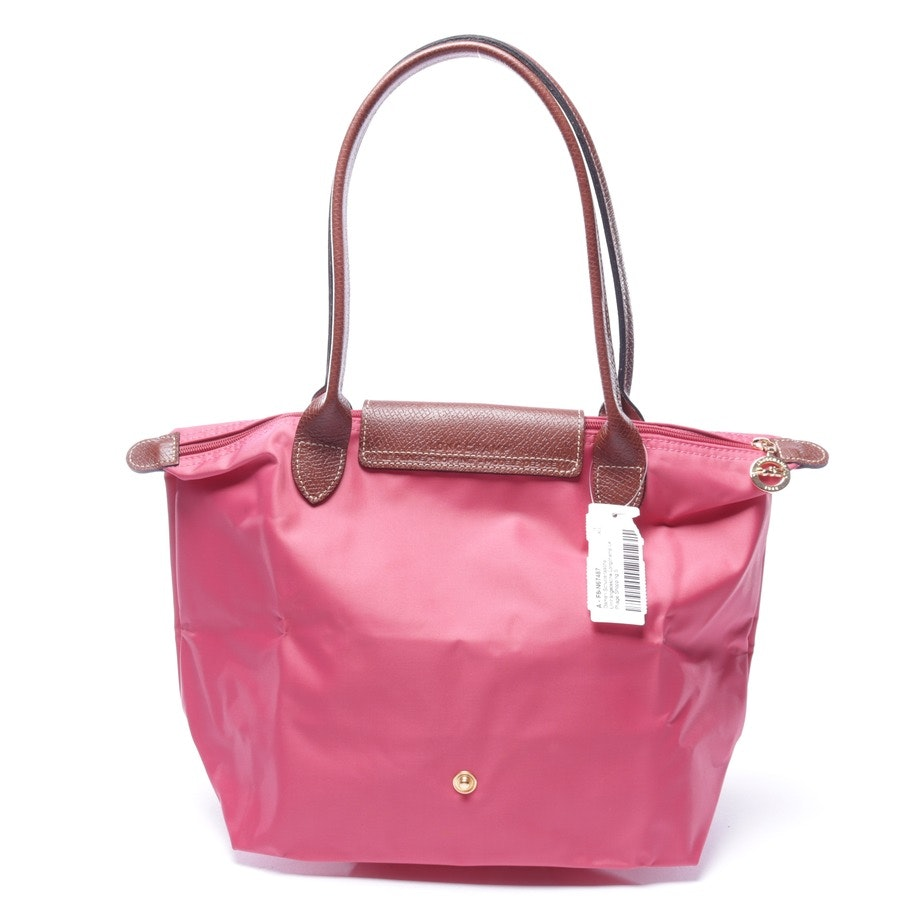 shoulder bag from Longchamp in pink - le pliage shopping s