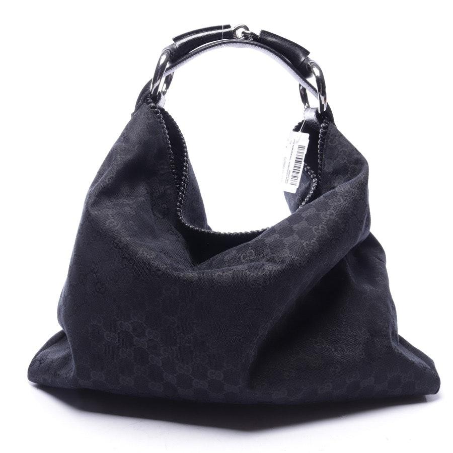 shoulder bag from Gucci in black - hobo horsebit