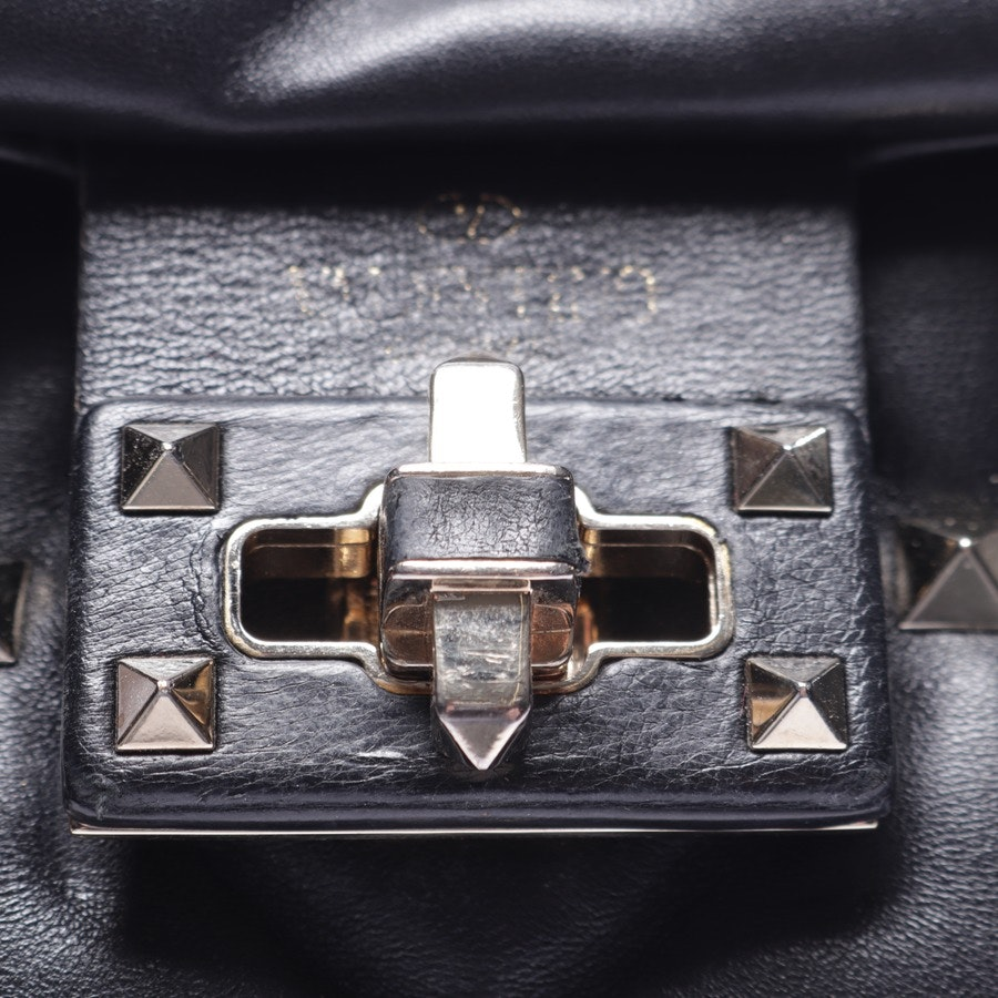 shoulder bag from Valentino in black and white - rockstud