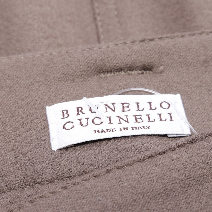 skirt from Brunello Cucinelli in brown size 36