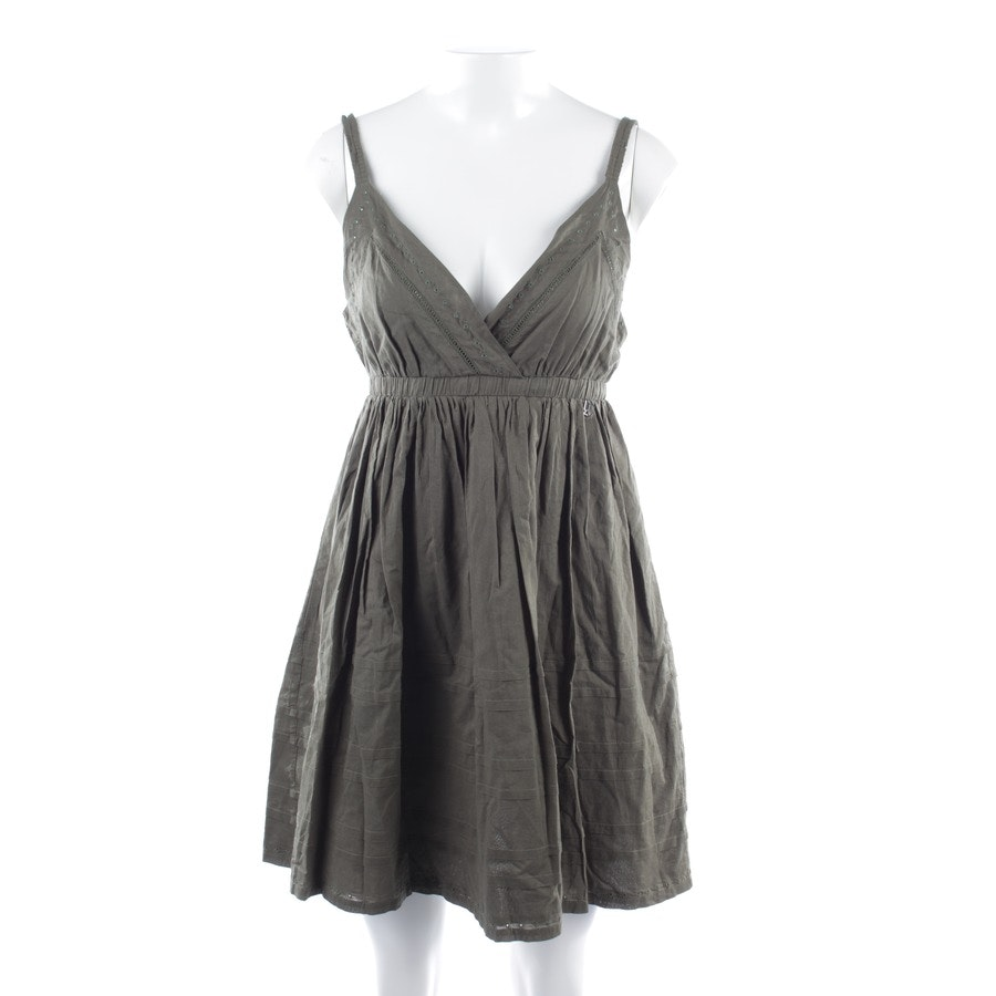 Kleid von John Galliano in Khaki Gr. DE 36 IT 42 - Neu