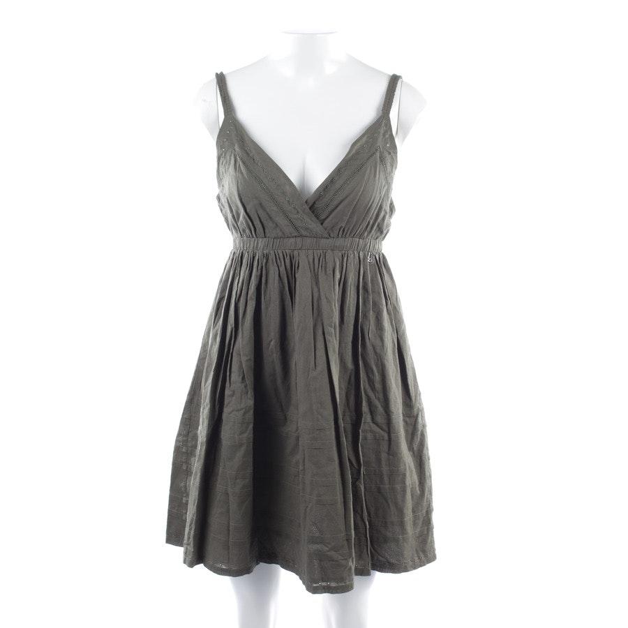 Kleid von John Galliano in Khaki Gr. DE 36 IT 42 - Neu