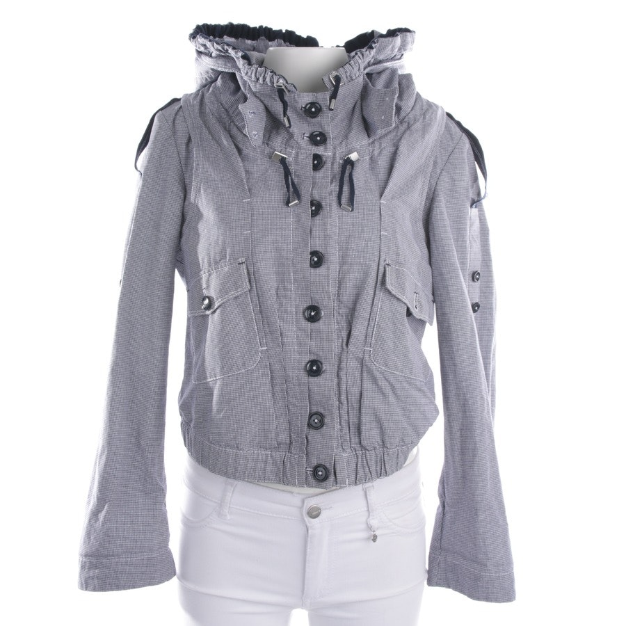 between-seasons jackets from High Use in white and blue size 36