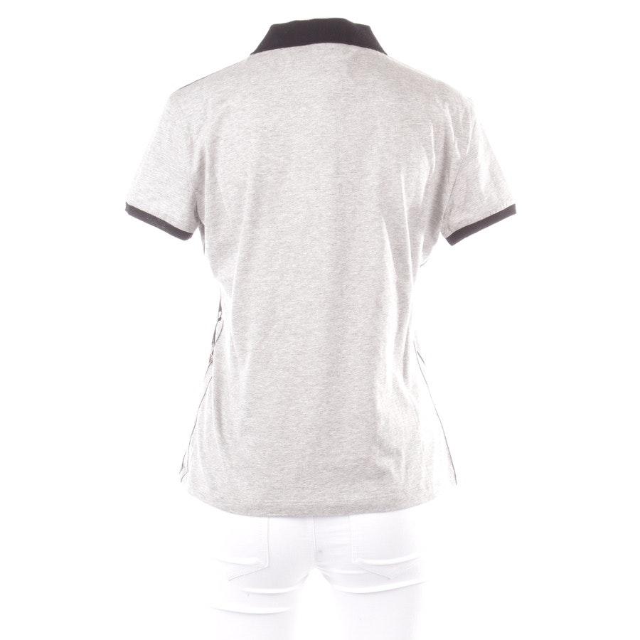 Poloshirt von John Galliano in Grau und Schwarz Gr. M - Neu