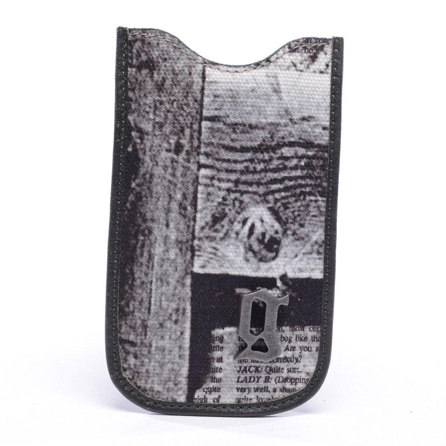 iPhone 5 Hülle von John Galliano in Weiß und Schwarz - Neu