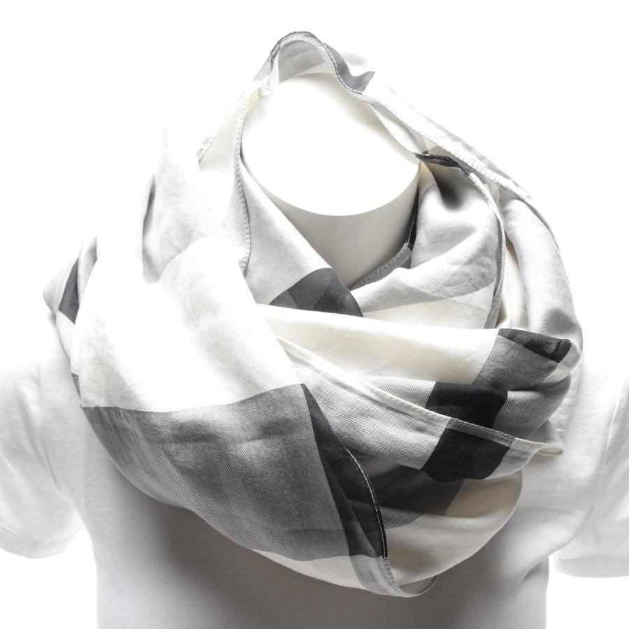 Schal von Burberry in Weiß und Schwarz